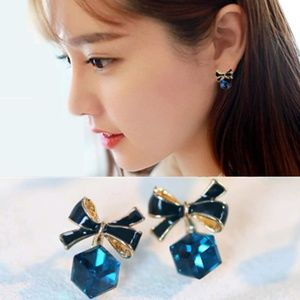 NEW Crystal Cube Earrings